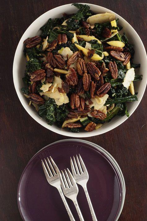 kale + apple salad
