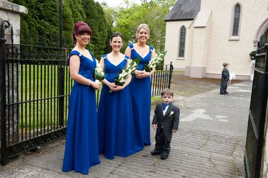 Edel and Barry's romantic wedding day