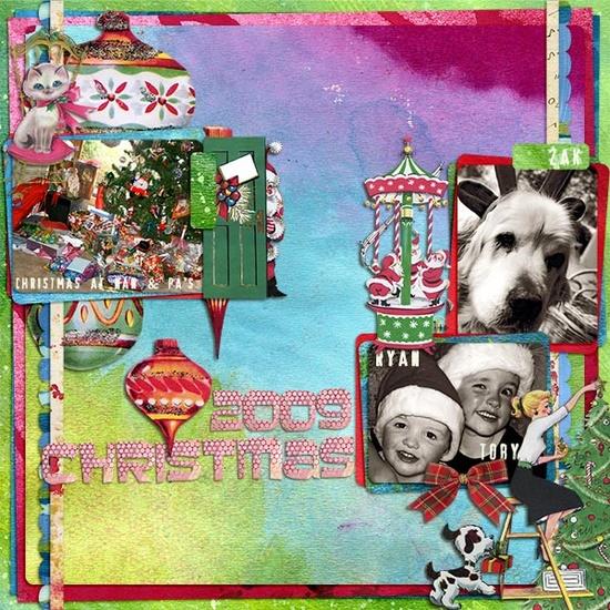 skyezak - - blogged at tangiebaxter.com/... #christmas, #decemberdaily, #scrapbooking, #journalyourchristmas, #digital