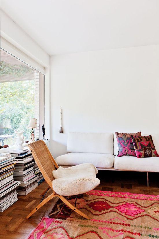 chair. rug