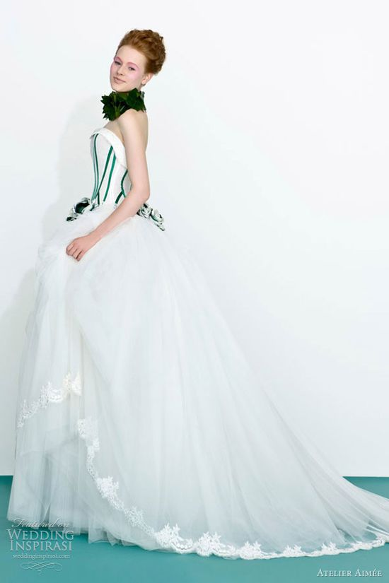 atelier aimee bridal 2013 strapless ball gown