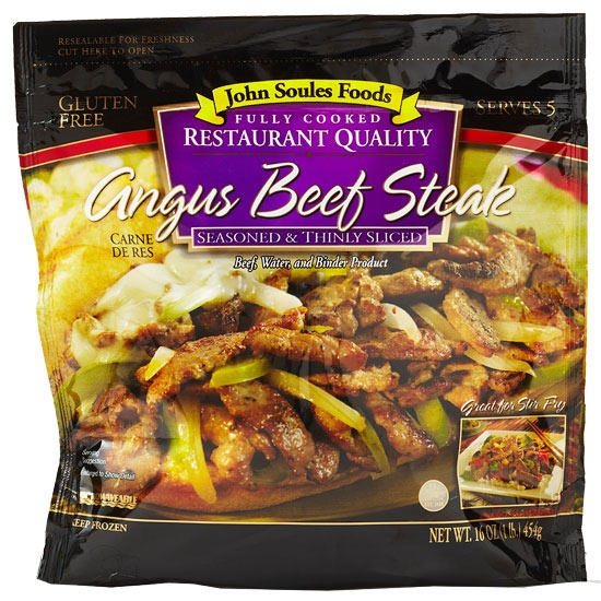 Best New Product Awards - Best Frozen Beef Entrees: John Soules Foods Angus Beef Steak 16oz