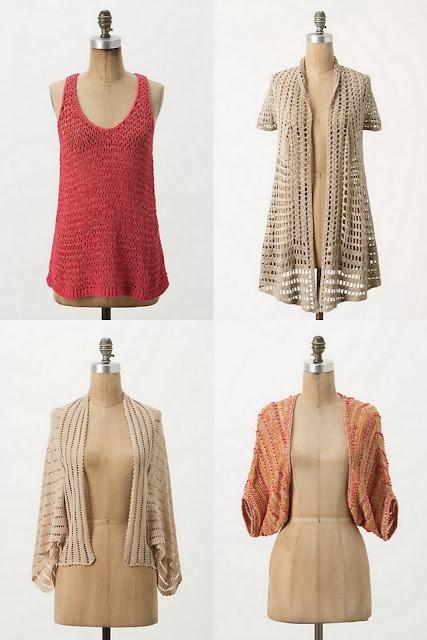 DIY Anthropologie tutorials for clothes, accessories, bedding, home decor, etc.