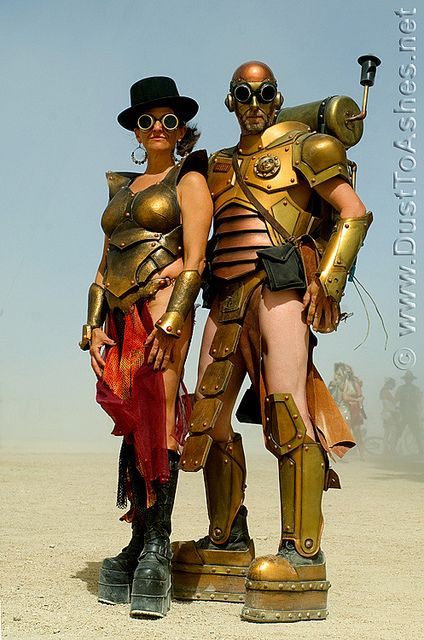 Burning Man 2010 Golden Warriors BM 2010 by Dust To Ashes, via Flickr