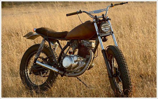 '81 Yamaha SR 250 - La Raíz Motorcycles - Pipeburn - Purveyors of Classic Motorcycles, Cafe Racers & Custom motorbikes