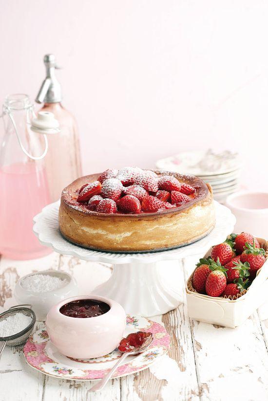 *Strawberry cake