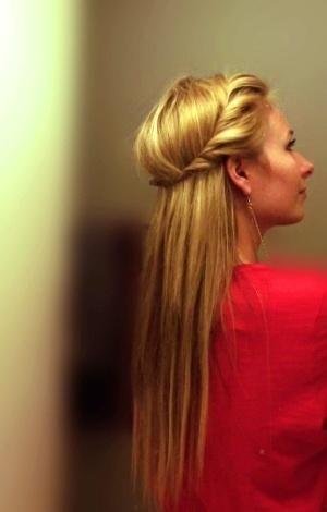 side twist wrap around head