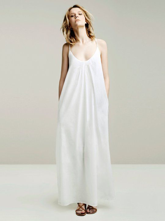 simple maxi #dress