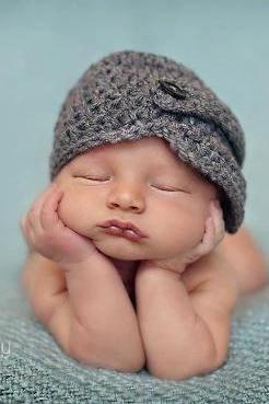 Baby Boy Hat Newborn