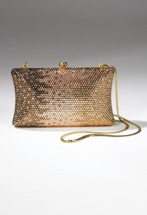 Handbags - Fully Rhinestone Metal Case Handbag from Camille La Vie and Group USA