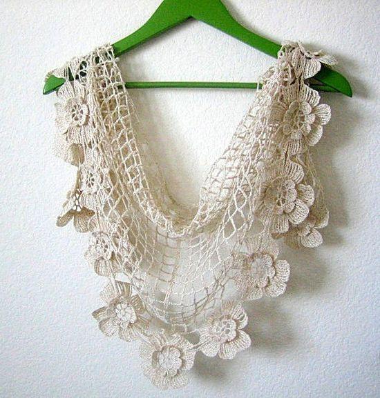 Shawl, crochet, scarf, wrap,beige gold metallic, hand made, sooooooo beautiful, new. $65.00, via Etsy.