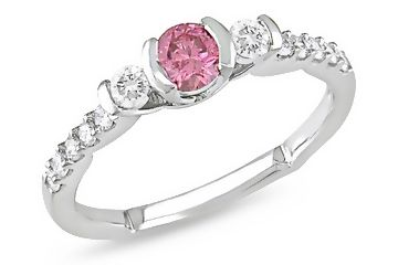 Pink #Diamond #Engagement #Ring