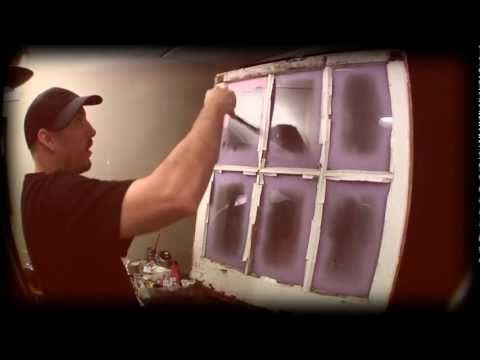 painting on windows video