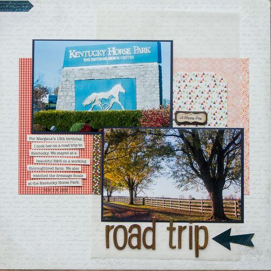 Road Trip - Scrapbook.com