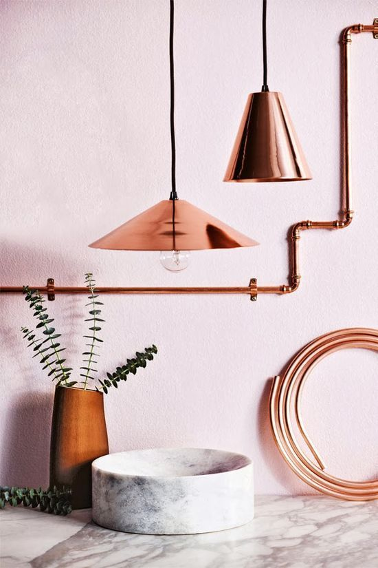 Copper Details #interior design #home decorating before and after #home