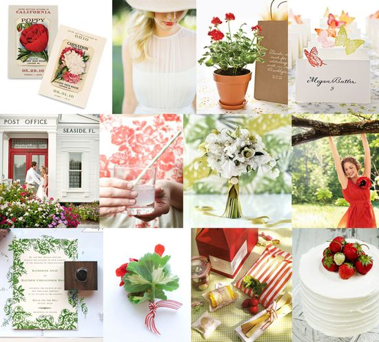 Picnic Wedding. So simple and chic and summery!