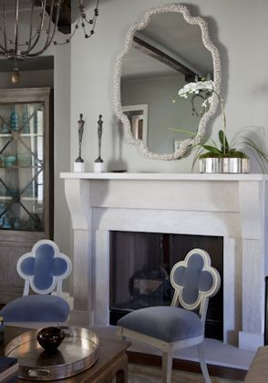 I still love those Hickory Chair, chairs so much. - Alexandra Side Chairs by Suzanne Kasler