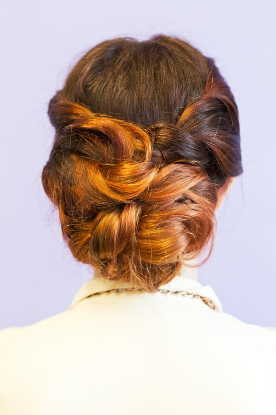 Twisted Updo Tutorial, easier than it looks