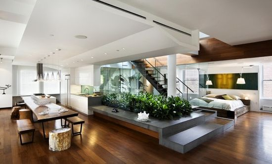 Open Floor Plans for Modern House Design