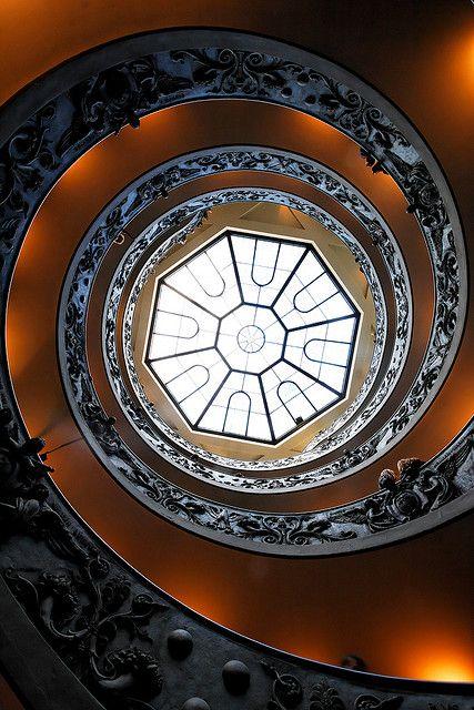 Spiral Staircase, Campo Marzio, Rome - Italy