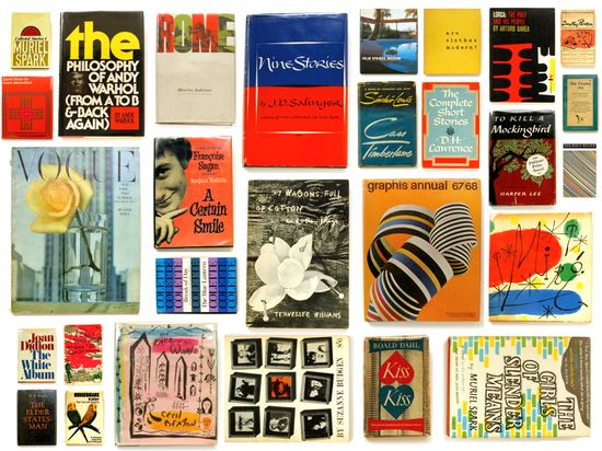 Work of the Poet: Fascinating Book Covers