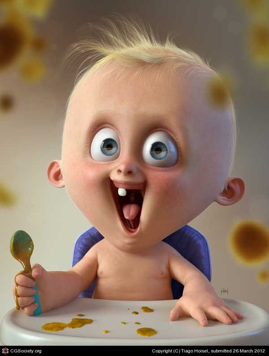 Fantastic 3D Animated Characters