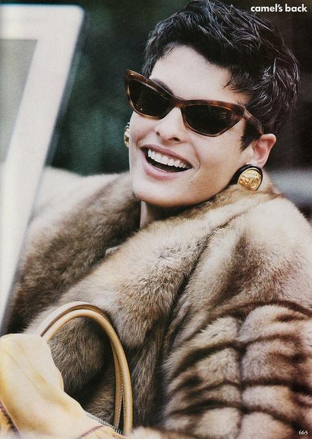 madame linda in furs