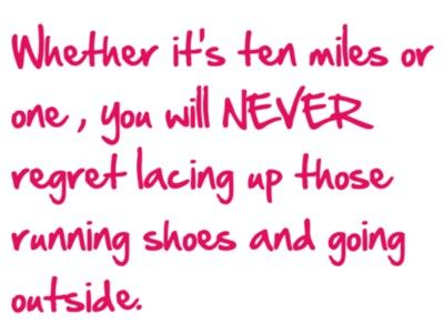 So true.  Just keep moving.