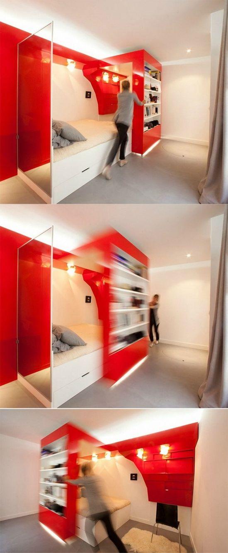 Amazing Red Bedroom Designs #CroscillSocial