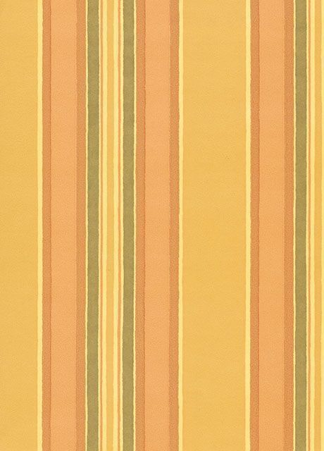 Clarence House Wallpaper Sorbonne Stripe- Yellow $172.99 price per roll #interiors #decor #stripe