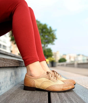Two-Tone Oxford Flats