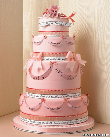 #wedding #cake Love-Letter Wedding Cake