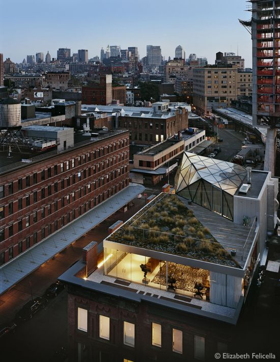 DVF Studio Headquarters in NYC, designed by Work AC #architecture