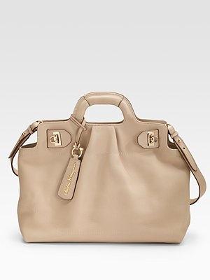 I love Ferragamo handbags. Beautifully made. Very Elegant