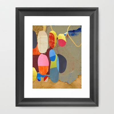 Ginza - (The Sights Of Japan) Framed Art Print by Zabu Stewart - $36.00 ____________________________ More ART - pinterest.com/...