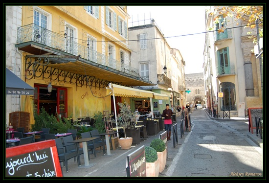 Arles, France - Cafe Van Gogh