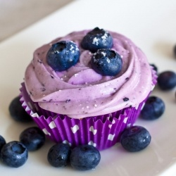 #133243 - Blueberry Cupcakes By TasteSpotting -- see more at LuxeFinds.com