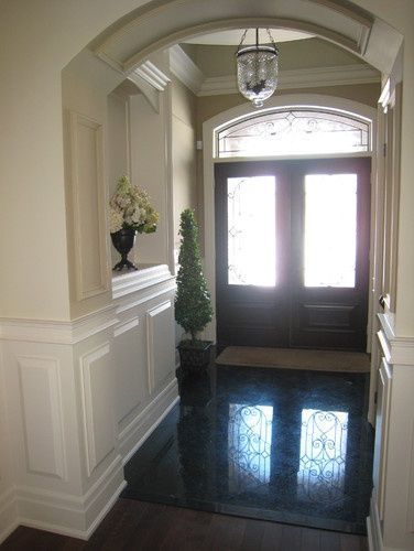 Black Marble Flooring Design, Pictures, Remodel, Decor and Ideas - page #floor decorating before and after #floor design #floor design #floor interior