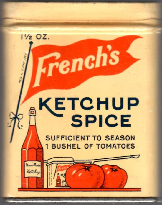 vintage French's Ketchup Spice