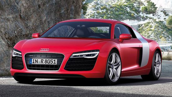 Audi Masterfully Refreshes the R8 Sports Car Range for 2013