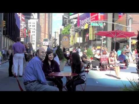 Farting Prank In Times Square. Why are farts always so dang funny.