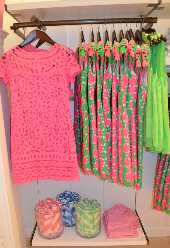 Lilly Pulitzer Spring '13- MarieKate Dress in Hotty Pink Go To Batt