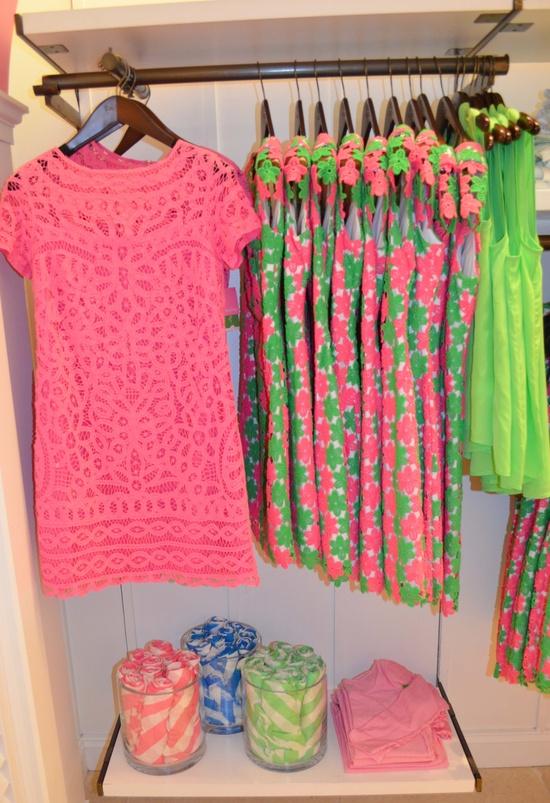 Lilly Pulitzer Spring '13- MarieKate Dress in Hotty Pink Go To Batt