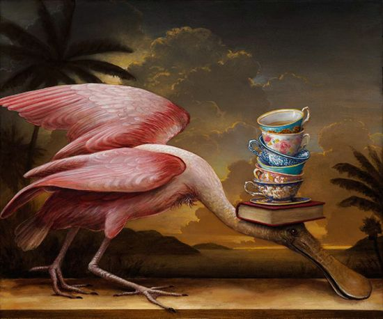 Kevin Sloan 'The Golden Garden'.
