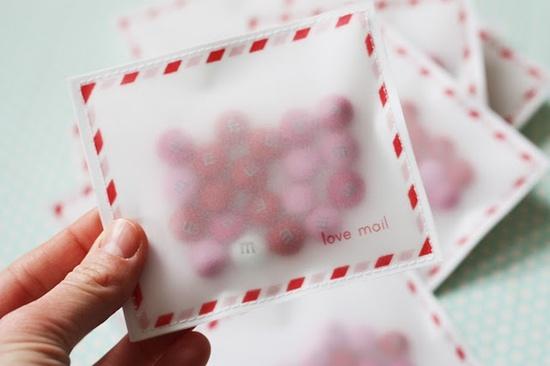 "An awesome handmade valentine ""card""."