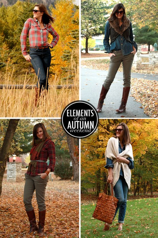 What I Wore fall outfits