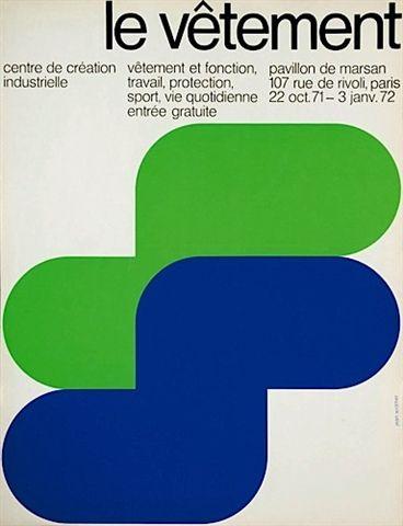 CCI / Le Vetement, 1971. Jean Widmer