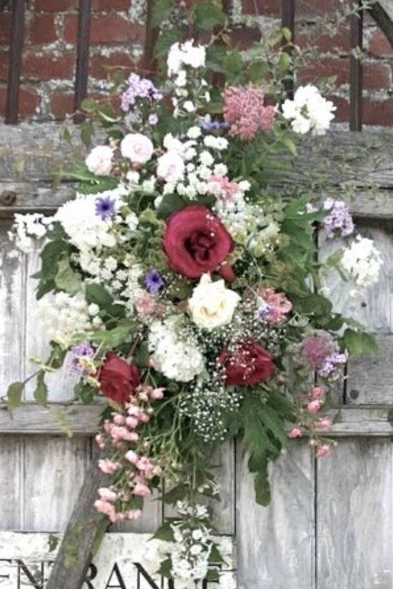 Lovely vintage flower arrangement