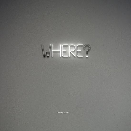 WHERE? HERE.