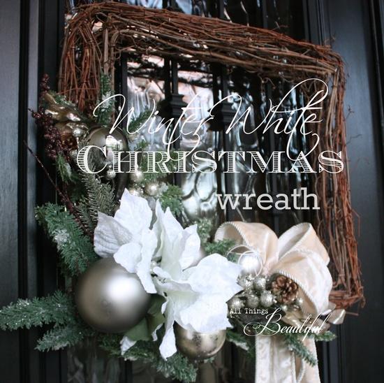 Winter White wreaths